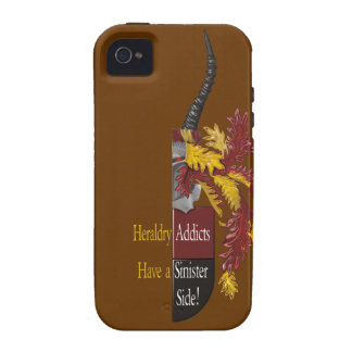 The Sinister Side of Heraldry iPhone 4 Cases