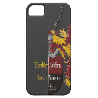 The Sinister Side of Heraldry iPhone 5/5S Case