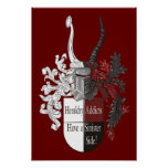 The Sinister Side of Heraldry Posters