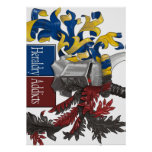 The Sinister Side of Heraldry Print