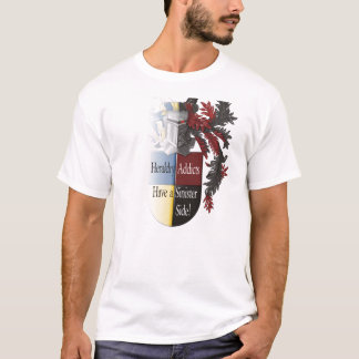 The Sinister Side of Heraldry T-Shirt
