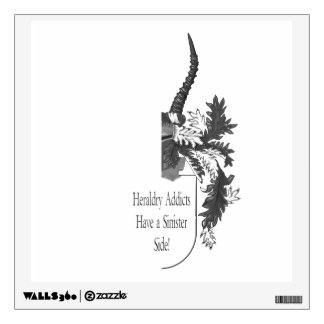 The Sinister Side of Heraldry Wall Sticker