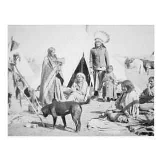 The Sioux Reservation at Pine Ridge, South Dakota, Postcard