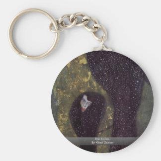The Sirens By Klimt Gustav Keychain
