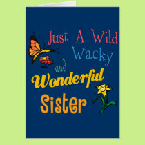 The Sister Collection Card