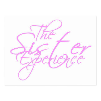 The Sister Experience Postcard