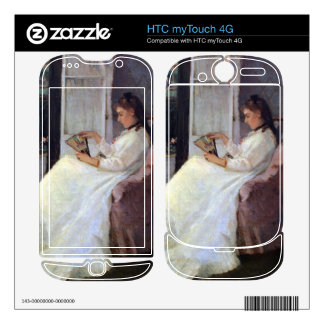 The sister of the artist at a window by Morisot HTC myTouch 4G Decal