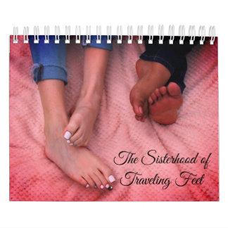 The Sisterhood of Traveling Feet Calendar