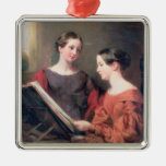 The Sisters, 1839 Christmas Ornaments