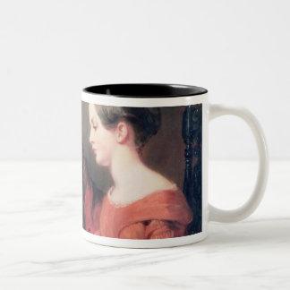 The Sisters, 1839 Two-Tone Coffee Mug