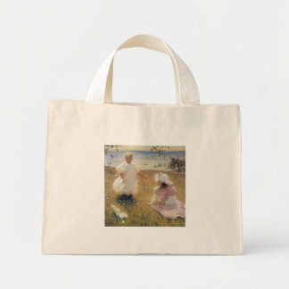 The Sisters by Frank Weston Benson Canvas Bag