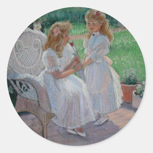 The Sister's Garden Sticker