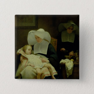 The Sisters of Mercy, 1859 Button