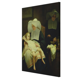The Sisters of Mercy, 1859 Canvas Print