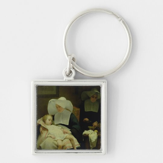 The Sisters of Mercy, 1859 Keychain