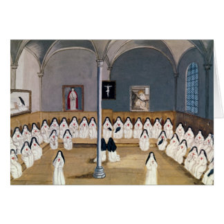 The Sisters of the Abbey Greeting Card