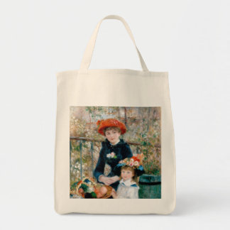 The Sisters Painting on Grocery Tote Tote Bag