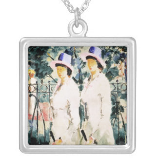 The Sisters Silver Plated Necklace