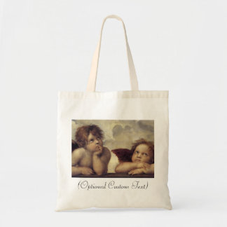 The Sistine Madonna (detail) Tote Bag