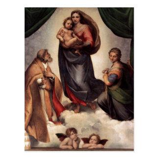 The Sistine Madonna Postcard
