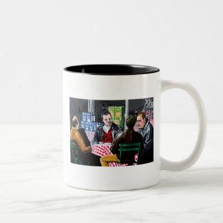The Sit Down Two-Tone Coffee Mug