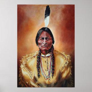 The Sitting Bull Poster