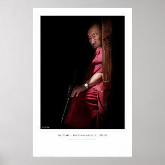 The Sitting Monk Print