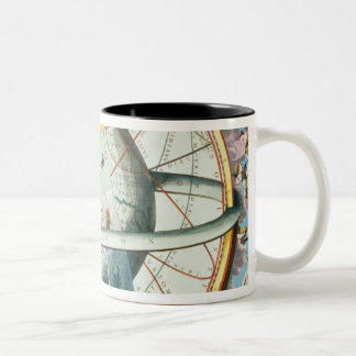The Situation of the Earth in the Heavens Two-Tone Coffee Mug