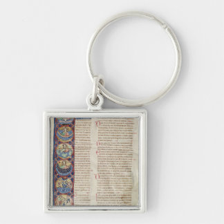 The Six Days of the Creation Keychain