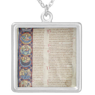 The Six Days of the Creation Square Pendant Necklace