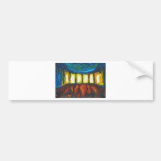 The Six Doors (spiritual expressionism ) Bumper Sticker