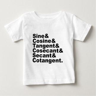 The Six Trigonometric Functions of Trigonometry Baby T-Shirt