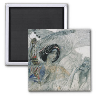 The Six Winged Seraph from The Prophet 2 Inch Square Magnet