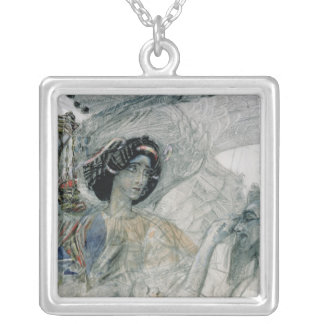 The Six Winged Seraph from The Prophet Silver Plated Necklace