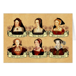 The SIx Wives of Henry VIII Classic Card