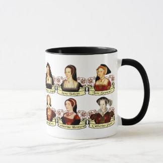 The SIx Wives of Henry VIII Classic Mug