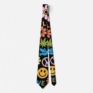 The sixties neck tie