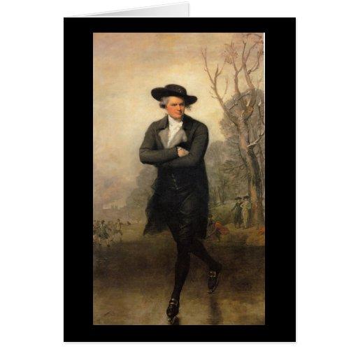 The Skater, by Gilbert Stuart Card