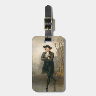 The Skater (Portrait of William Grant) Tag For Luggage