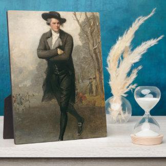 The Skater (Portrait of William Grant) Plaque