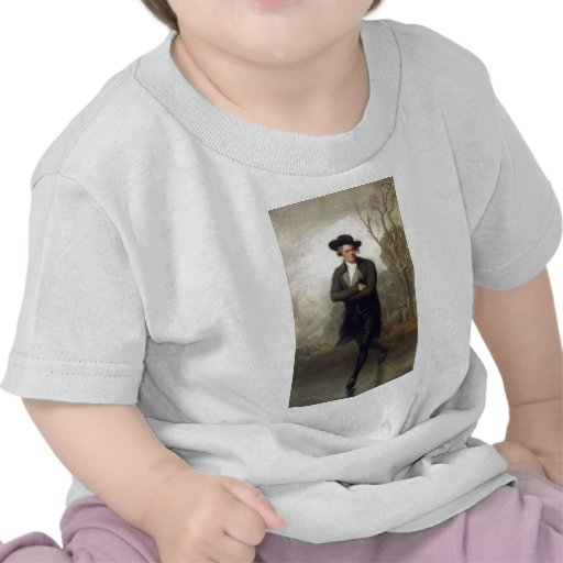 The Skater Portrait of William Grant Shirt