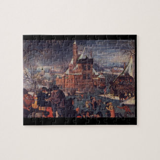 The Skaters', Pieter Brueghel_Dutch Masters Jigsaw Puzzle