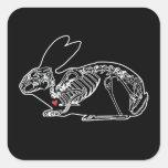 The Skeleton Crew Square Stickers