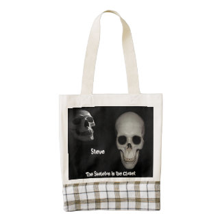 The Skeleton in the Closet Heart Tote Bag