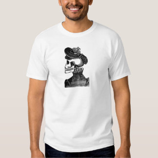 The Skeleton Lady. Circa early 1900s Mexico Shirt