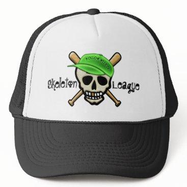 Halloween Themed The Skeleton League - Hollow Weenies Trucker Hat