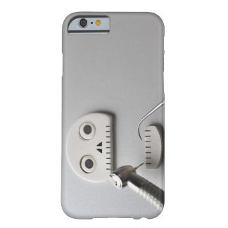 The skeleton which dental treatment is taken barely there iPhone 6 case