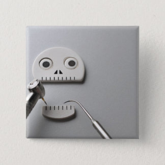 The skeleton which dental treatment is taken button