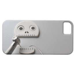 The skeleton which dental treatment is taken iPhone SE/5/5s case