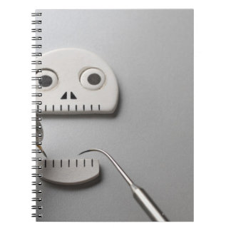 The skeleton which dental treatment is taken spiral notebook